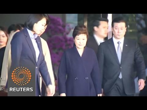 South Korea's Park emerges after 14-hour interrogation