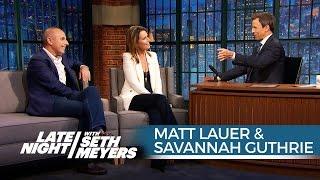 Matt Lauer and Savannah Guthrie on Donald Trump's Effect on the GOP Race