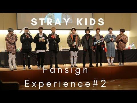 180120 Stray Kids Fansign Experience #2  (Myungdong) 스트레이키즈 팬사인 (명동)