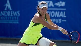 USTA National Campus Highlights Variety of On Court Action
