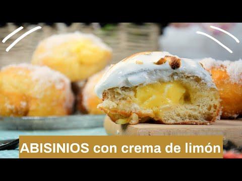 ? ABISINIOS con crema de limón y merengue