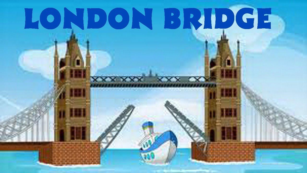 London Bridge Is Falling Down - English Nursery Rhyme ...