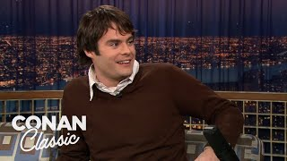 "Bill Hader On ""Late Night With Conan O'Brien"" 12/16/05"