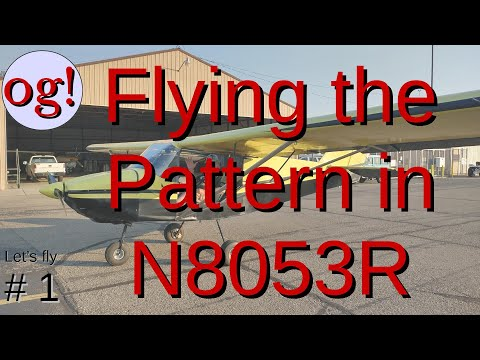 An Airplane Video from KE0OG! AJZ Pattern Video