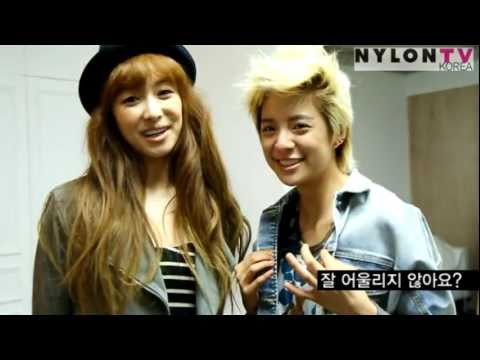[NYLON TV KOREA] f(x) 빅토리아 + 엠버 (Victoria + Amber)