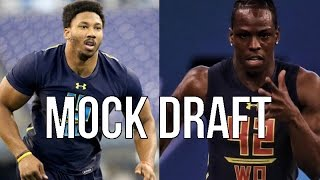 2017 NFL Mock Draft 5.0 - Post Free Agency and Post Combine Mock Draft
