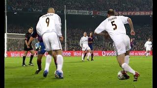 Zidane, Ronaldo, Beckham & R. Carlos Masterclass vs Barca 2003