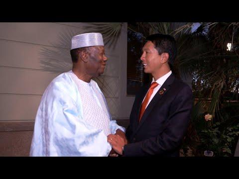 Entretien avec le Président de la République de Madagascar, Andry RAJOELINA