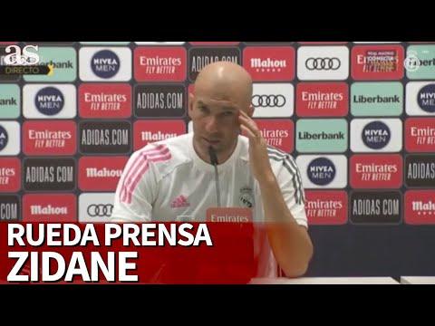 REAL MADRID - VALLADOLID |Rueda de prensa de Zidane | Diario AS