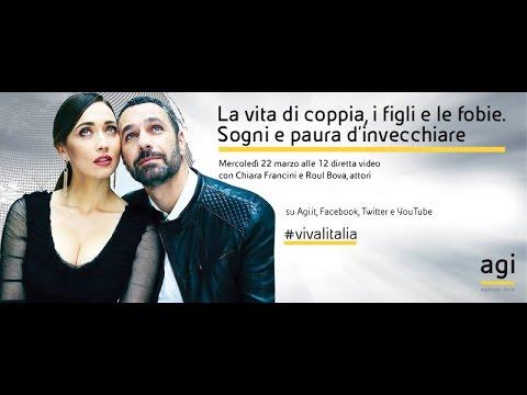 #vivalitalia con Raoul Bova e Chiara Francini