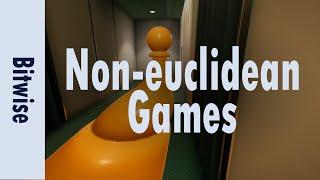 How do non-euclidean games work?   Bitwise
