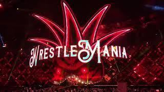 Brock Lesnar Entrance - WWE WrestleMania 34