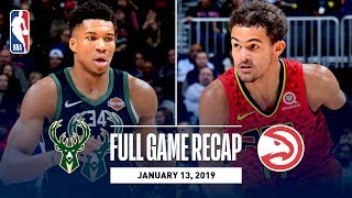 Full Game Recap: Bucks vs Hawks | Trae Young Goes For 26 Points & 10 Rebounds