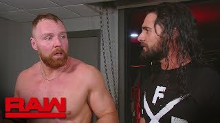Dean Ambrose wonders why Seth Rollins didn't have his back: Raw, Feb. 18, 2019