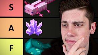 Minecraft 1.17 Update TIER LIST