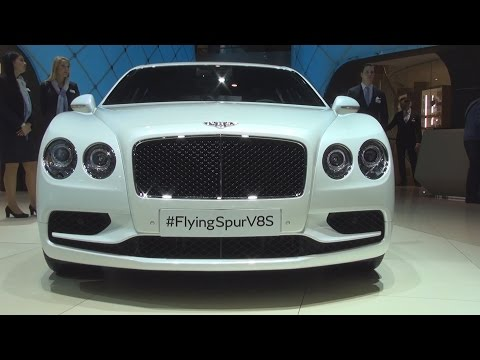 Bentley Flying Spur V8S (2016) Exterior and Interior in 3D