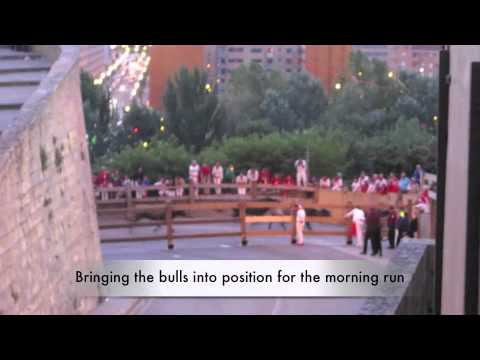 Surviving Running Of The Bulls 2012 - Spains Infamous San Fermin Festival in Pamplona