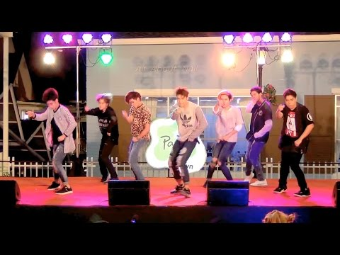 151108 BRUTE cover GOT7 - Intro + Just right + If You Do @The Idol Battle Cover Dance 2015 (Semi)