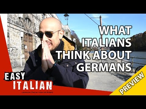 What Italians think about Germans (Trailer) | Easy Italian 26 photo