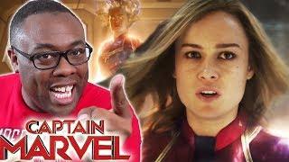 CAPTAIN MARVEL Trailer 2 Review & Rants - Black Nerd