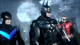 Batman   : Arkham Knight Gameplay Trailer – Robin, Catwoman, Nightwing, Character Switching Combat