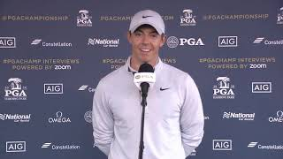 Rory McIlroy determined to thrive without crowds in bid to end major drought - Press conference