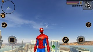 Spider Man   Vegas Crime Simulator   Naxeex Fan Build Android Gameplay HD