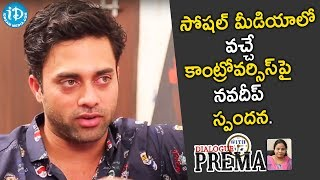 Navdeep Reaction on Controversial Comments in Dialogue wit..