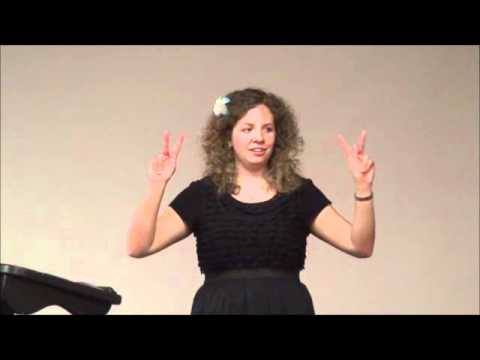 Sign Language Beginning - Magazine cover