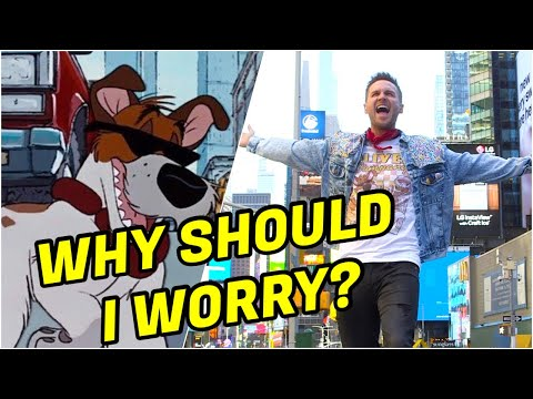 Why Should I Worry? (Oliver and Company) TIMES SQUARE Cover