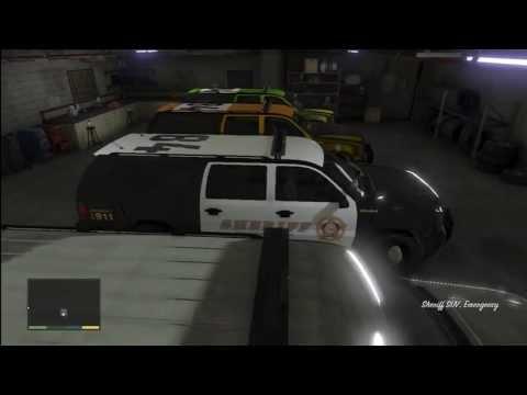 GTA 5: FIB Garage Full of The Best Heist Police Raid Vehicle On (GTA V)
