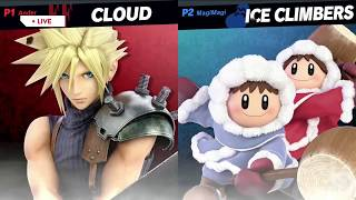 Ice Climbers VS. Cloud |  Super Smash Bros  Ultimate GAMEPLAY