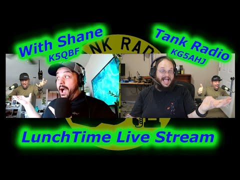 Lunchtime Live Stream, without Jason KC5HWB