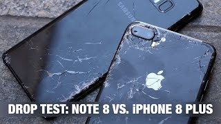 iPhone 8 Plus vs. Galaxy Note 8 - DROP TEST + пранк iPhone'ом