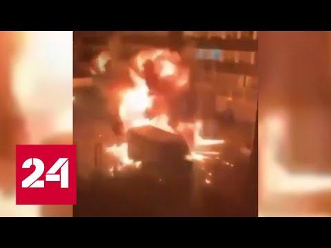 Беспорядки в Амстердаме: в районе Осдорп прогремел взрыв