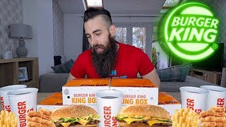 The 5 BK King Box Challenge | BeardMeatsFood