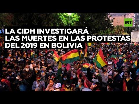 La CIDH investigará las muertes en las protestas del 2019 en Bolivia