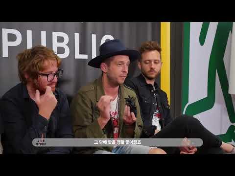 OneRepublic - interview in Korea