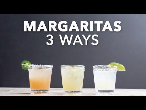 Margaritas 3 Ways