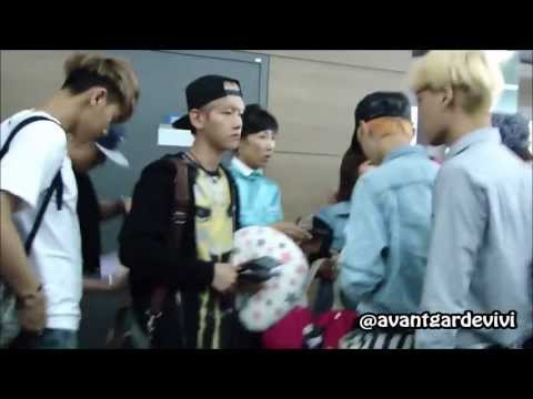 [HD 1080p/FANCAM]130715 EXO AT INCHEON AIRPORT GOING TO MOSCOW