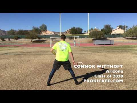 Connor Witthoft, Prokicker.com Kicker Punter, Class of 2020