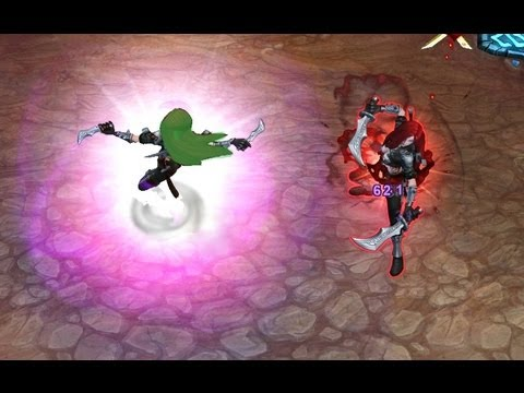 Cyber Katarina Skin PARTICLES - League Of Legends [ VERY UNfinished] - Smashpipe Games