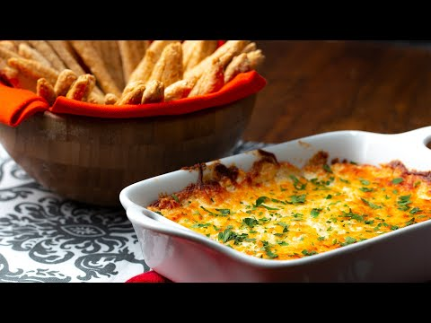 Sesame Sticks With Garlic Parmesan Dip ? Tasty
