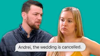 Elizabeth and Andrei Call Off the Wedding Because of his Dark Past | 90 day fiancé