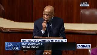 Rep. John Lewis Remembers Rep. John Conyers