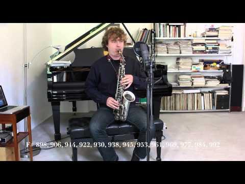 128 notes per octave on Alto Saxophone - Philipp Gerschlauer