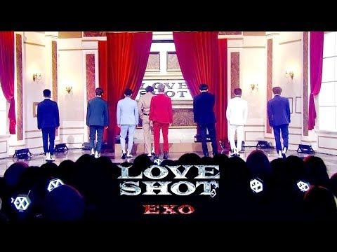 EXO(엑소)-Love Shot(러브샷) Stage Mix 무대모음 교차편집