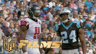 Josh Norman Mic'd Up vs. Julio Jones (Week 14) | Inside the NFL: Falcons vs. Panthers highlights