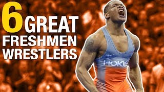 6 Freshmen Phenoms at NCAA Wrestling Championships