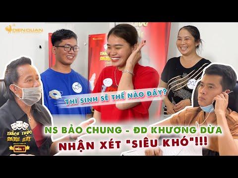 Thách thức danh hài 7 | NS Bảo Chung, ĐD  Khương Dừa nhận xét